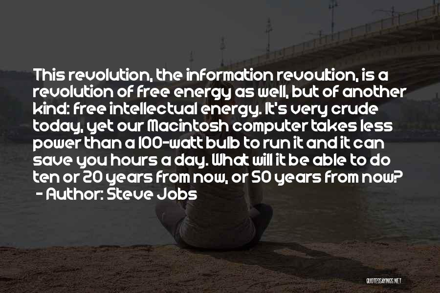 50 Years From Now Quotes By Steve Jobs