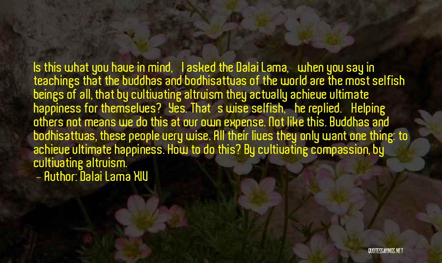 Dalai Lama XIV Quotes: Is This What You Have In Mind,' I Asked The Dalai Lama, 'when You Say In Teachings That The Buddhas