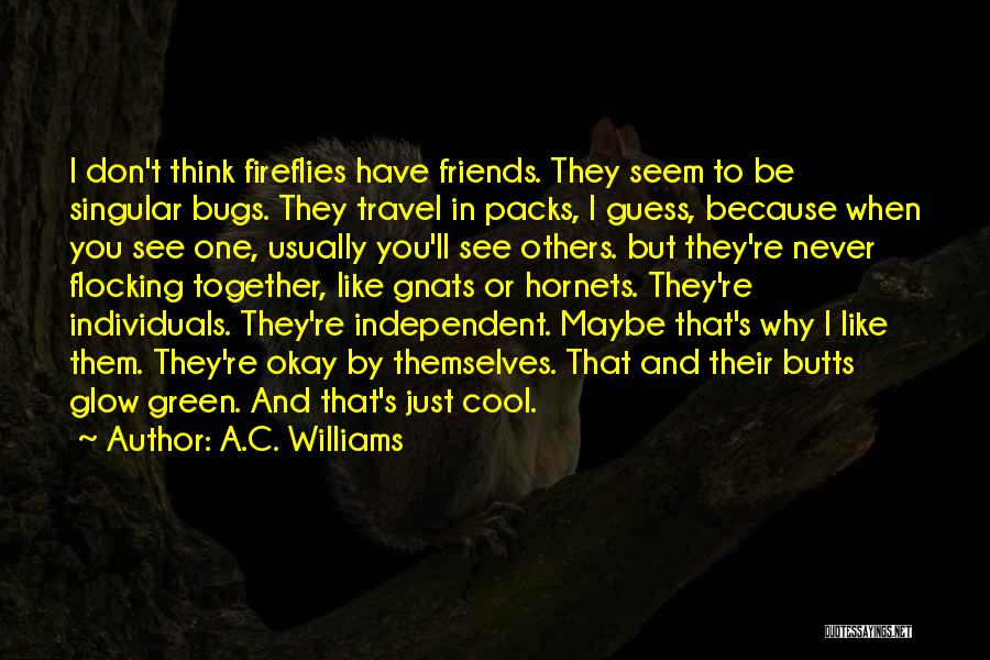 6 Packs Quotes By A.C. Williams