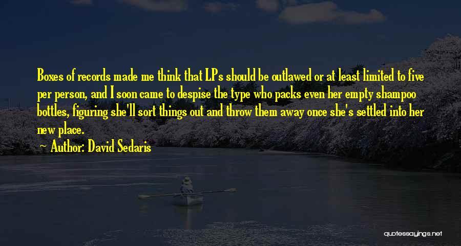 6 Packs Quotes By David Sedaris