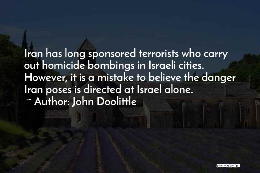 7/7 Bombings Quotes By John Doolittle