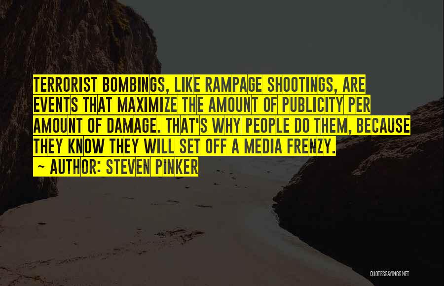 7/7 Bombings Quotes By Steven Pinker