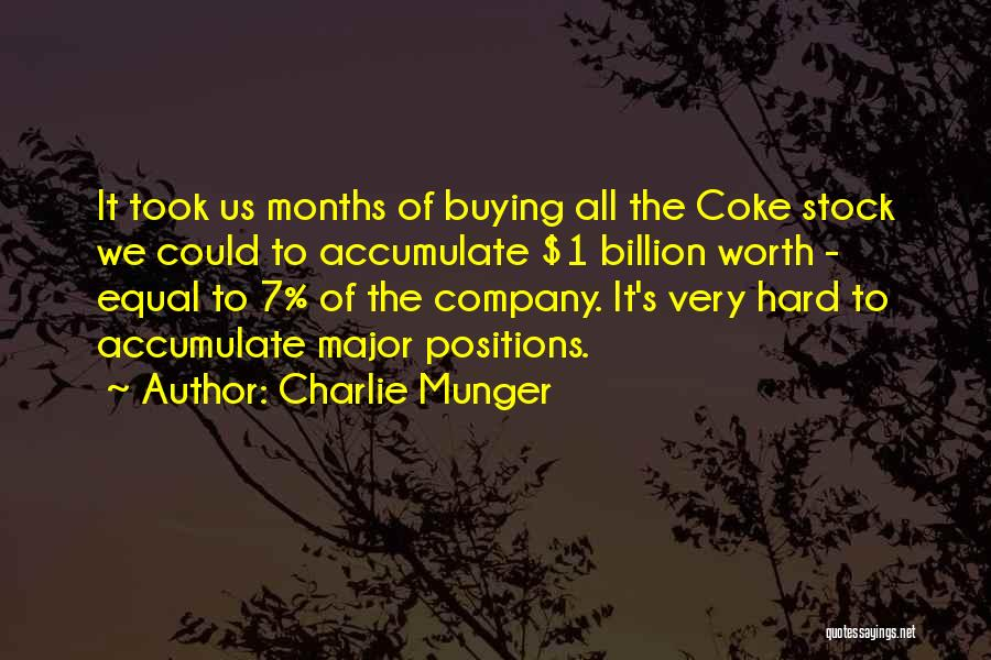 7 Months Quotes By Charlie Munger