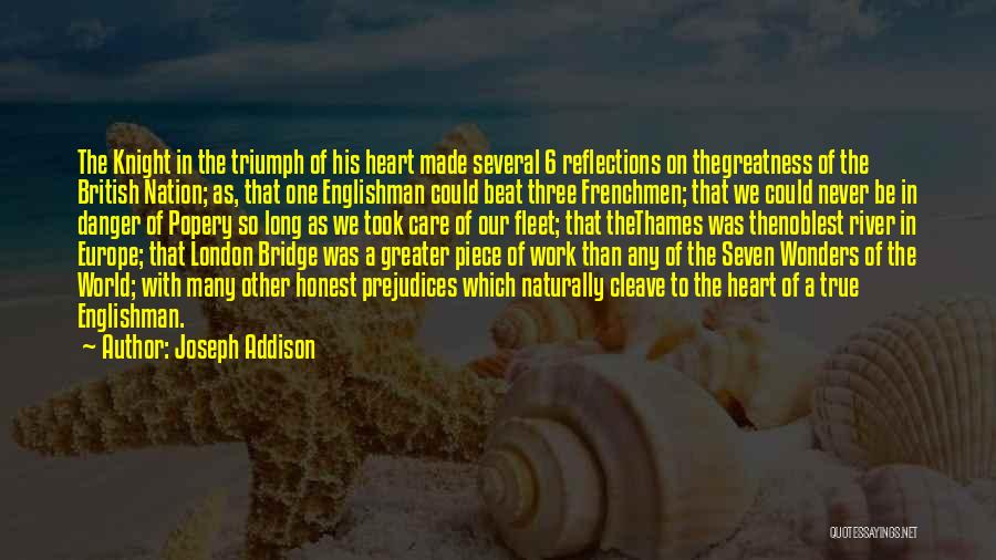 7 Wonders Of The World Quotes By Joseph Addison