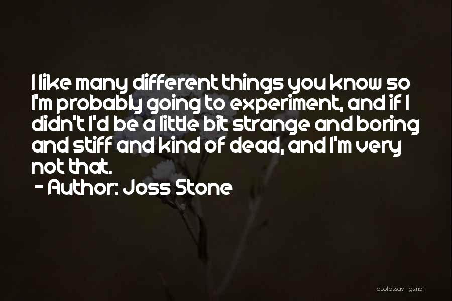 8 Bit Quotes By Joss Stone