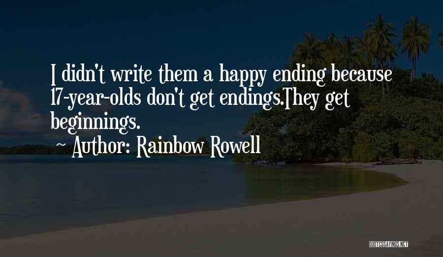 9 Year Olds Quotes By Rainbow Rowell