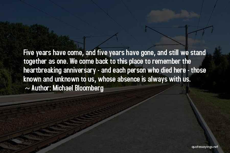 9 Years Anniversary Quotes By Michael Bloomberg