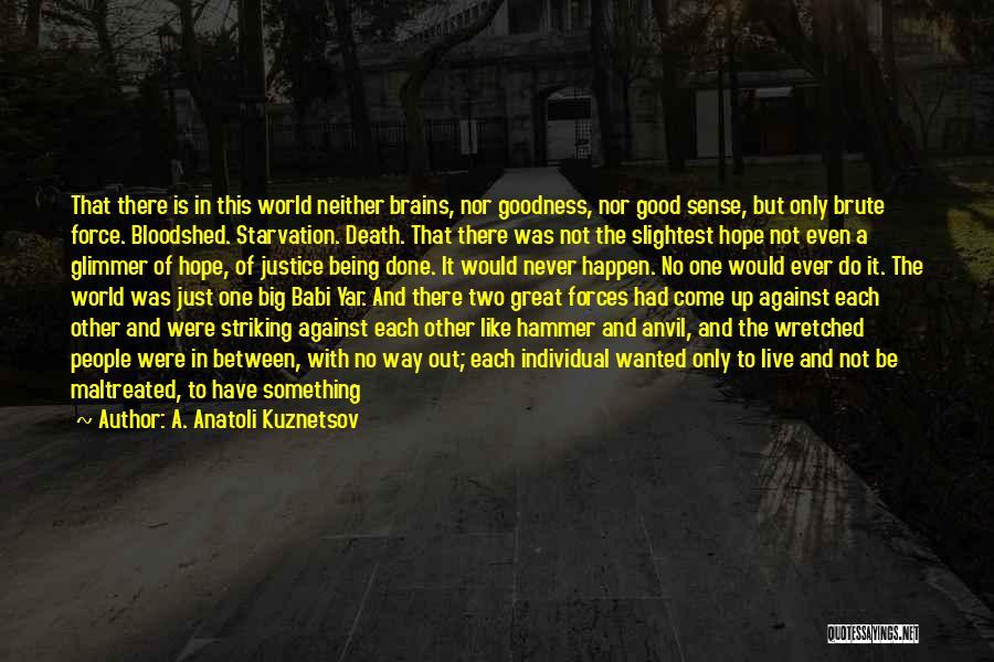 A. Anatoli Kuznetsov Quotes 2147045