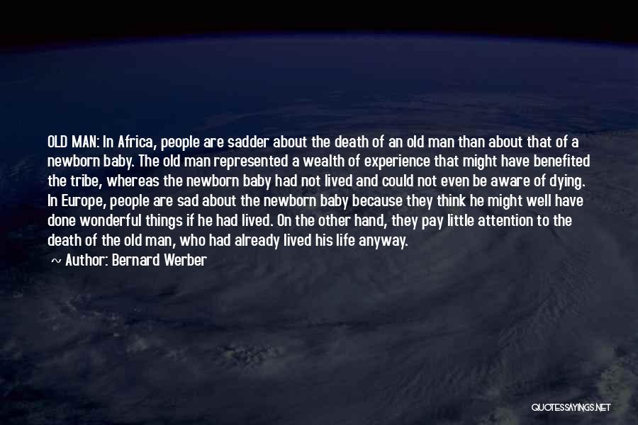 A Baby's Death Quotes By Bernard Werber