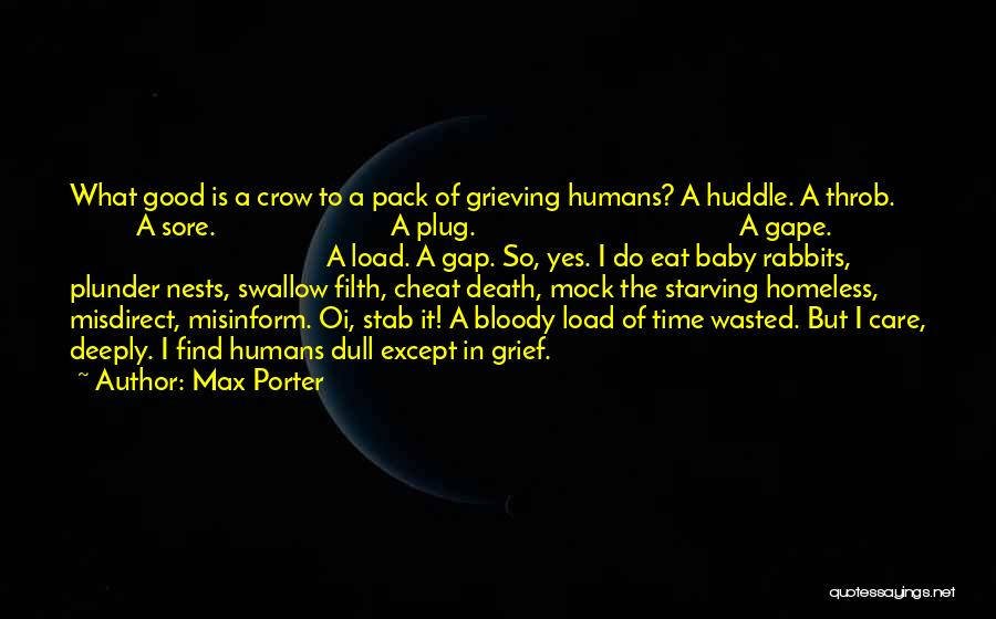 A Baby's Death Quotes By Max Porter