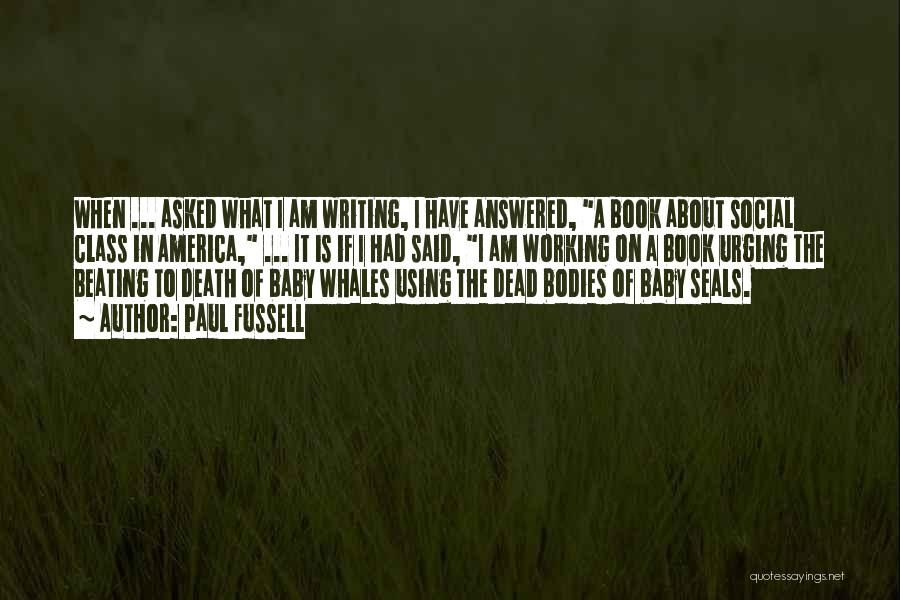 A Baby's Death Quotes By Paul Fussell