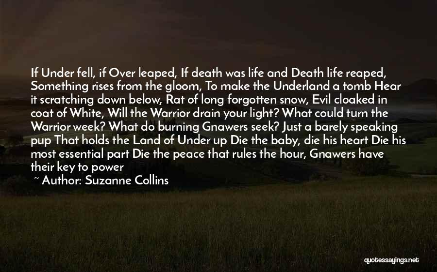 A Baby's Death Quotes By Suzanne Collins