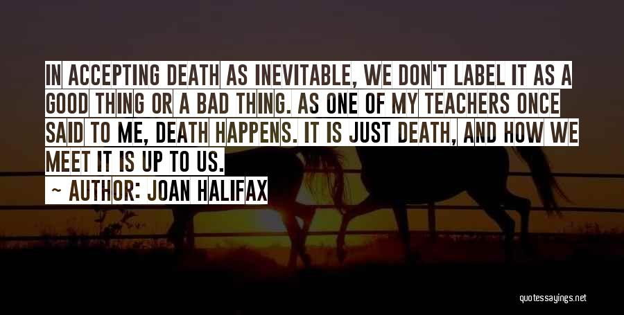 A Bad Teacher Quotes By Joan Halifax