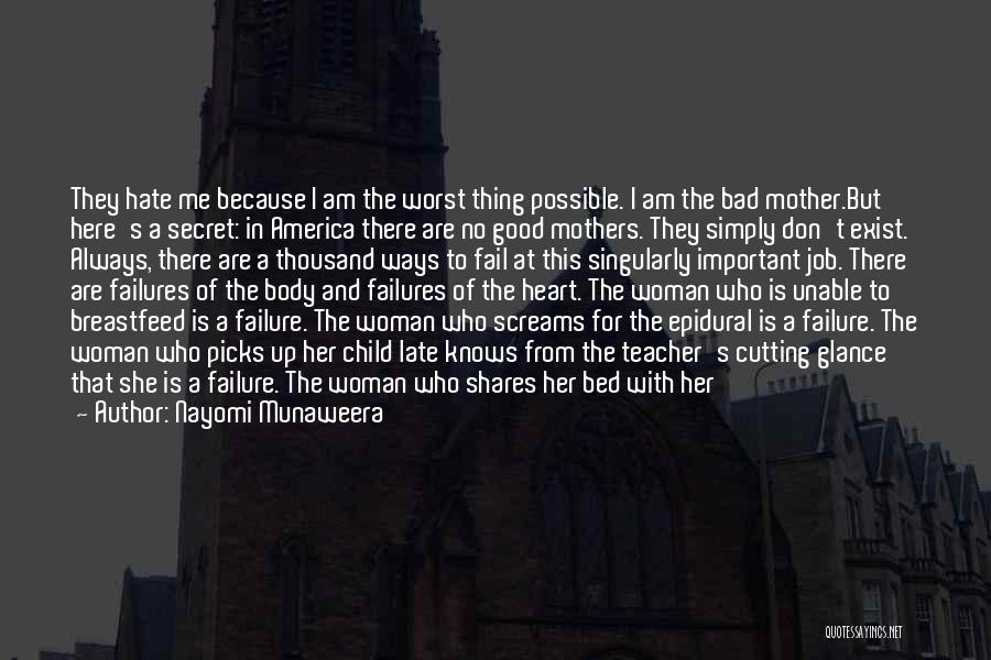 A Bad Teacher Quotes By Nayomi Munaweera