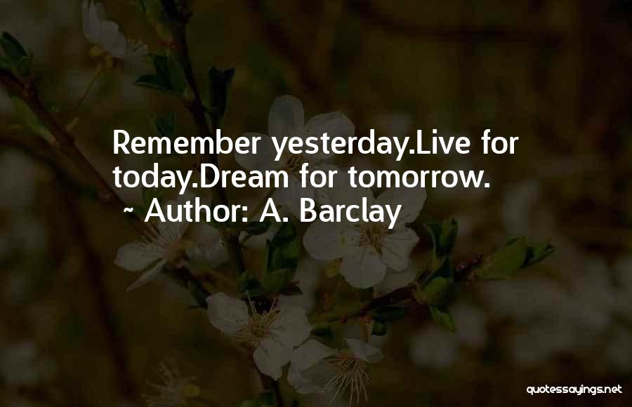 A. Barclay Quotes 1233805