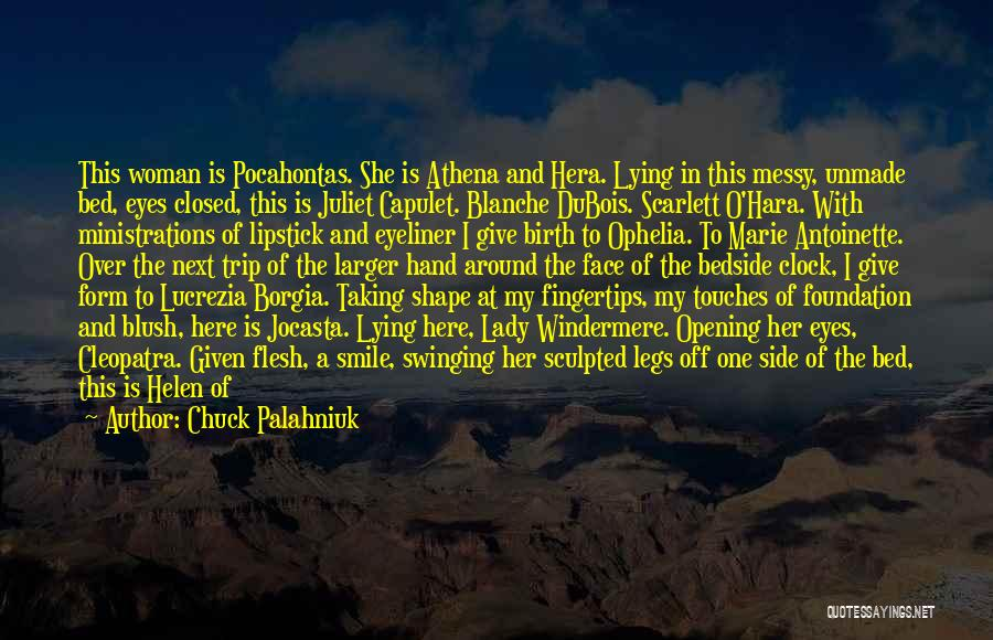 A Beautiful Eyes Quotes By Chuck Palahniuk