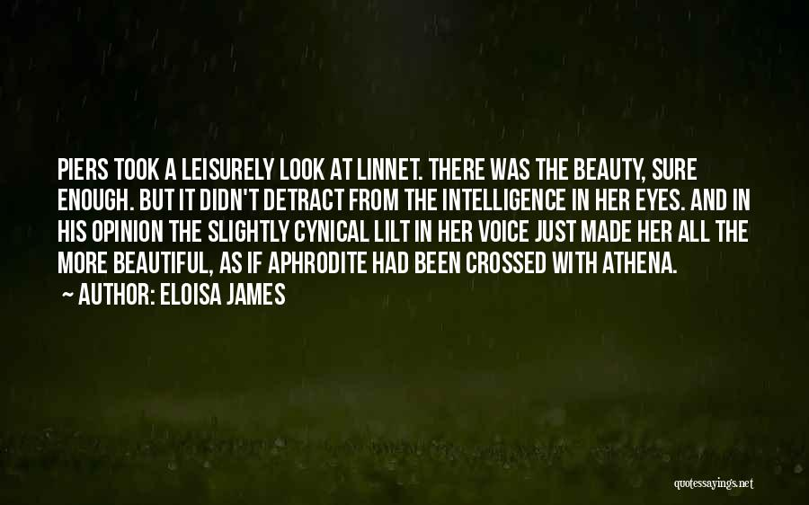 A Beautiful Eyes Quotes By Eloisa James