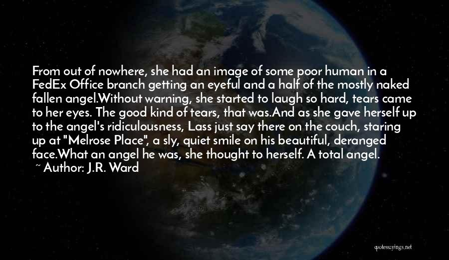 A Beautiful Eyes Quotes By J.R. Ward