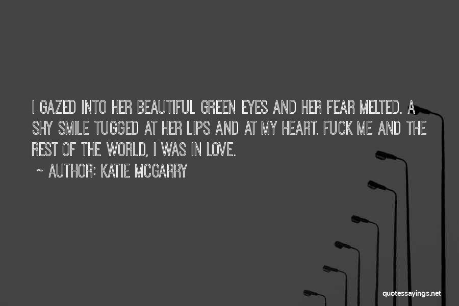 A Beautiful Eyes Quotes By Katie McGarry