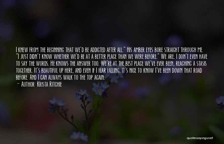 A Beautiful Eyes Quotes By Krista Ritchie