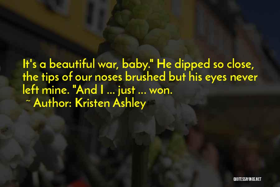 A Beautiful Eyes Quotes By Kristen Ashley