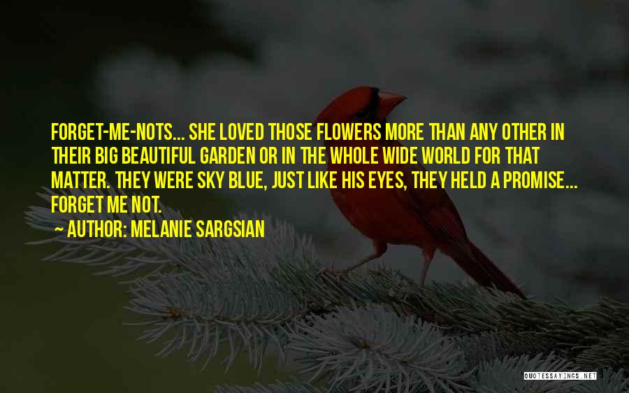 A Beautiful Eyes Quotes By Melanie Sargsian