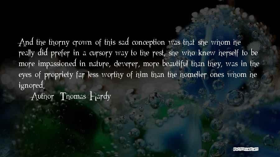 A Beautiful Eyes Quotes By Thomas Hardy