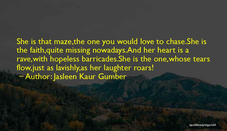 A Beautiful Girl Quotes By Jasleen Kaur Gumber