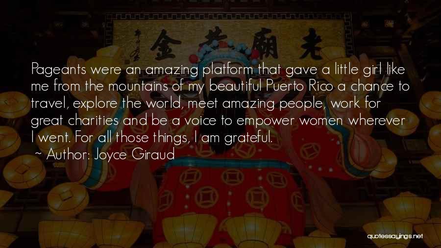 A Beautiful Girl Quotes By Joyce Giraud