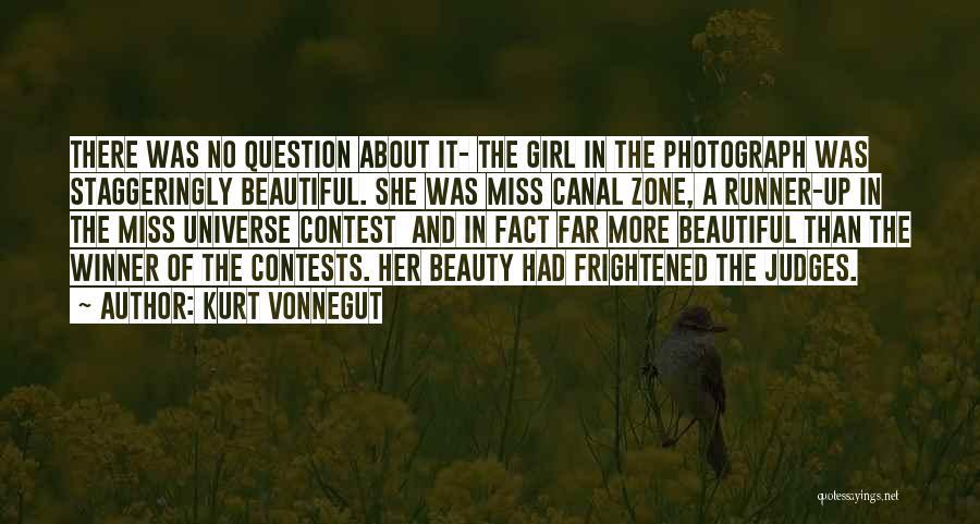 A Beautiful Girl Quotes By Kurt Vonnegut