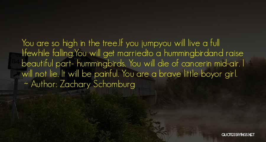 A Beautiful Girl Quotes By Zachary Schomburg