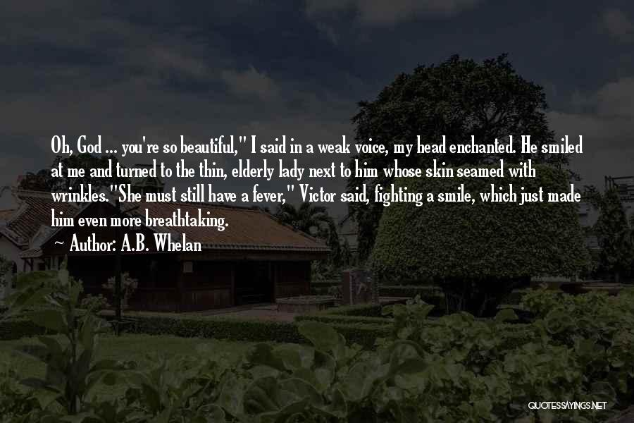 A Beautiful Lady Quotes By A.B. Whelan