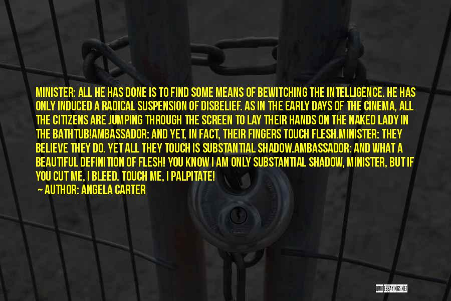 A Beautiful Lady Quotes By Angela Carter