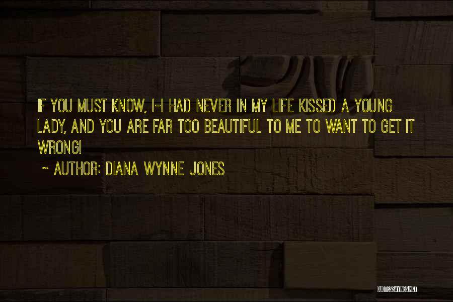 A Beautiful Lady Quotes By Diana Wynne Jones