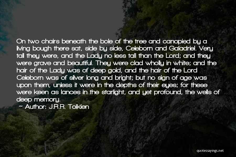 A Beautiful Lady Quotes By J.R.R. Tolkien