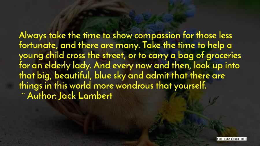 A Beautiful Lady Quotes By Jack Lambert
