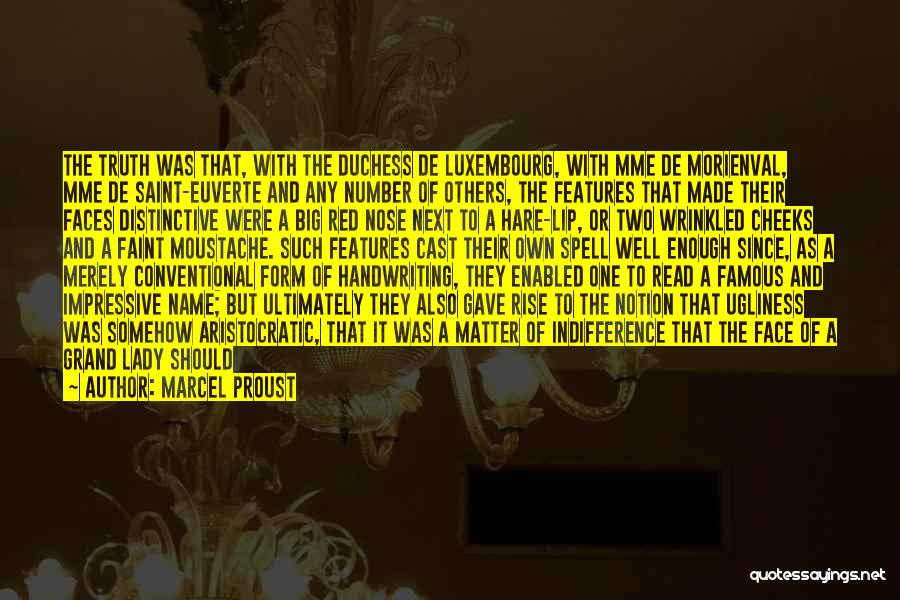 A Beautiful Lady Quotes By Marcel Proust