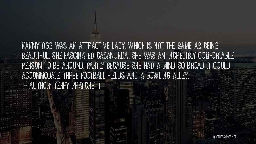 A Beautiful Lady Quotes By Terry Pratchett