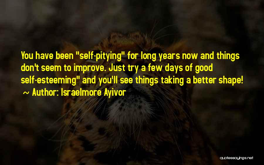 A Better Change Quotes By Israelmore Ayivor