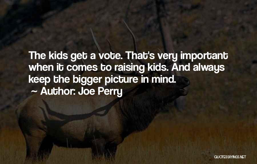 A Bigger Picture Quotes By Joe Perry
