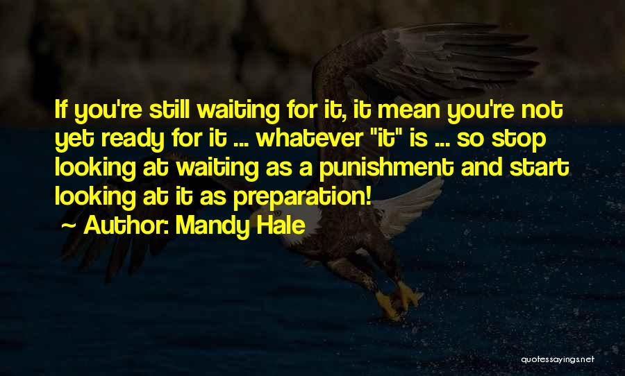 A Bigger Picture Quotes By Mandy Hale