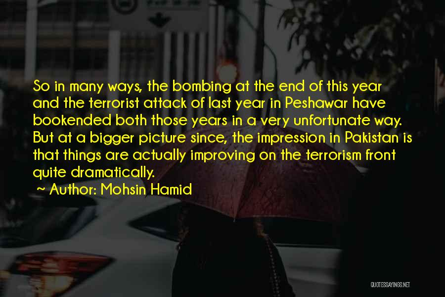 A Bigger Picture Quotes By Mohsin Hamid