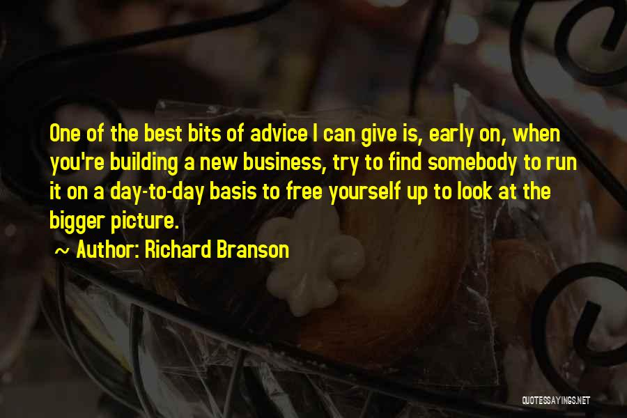A Bigger Picture Quotes By Richard Branson