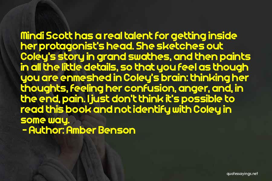 A Book Quotes By Amber Benson