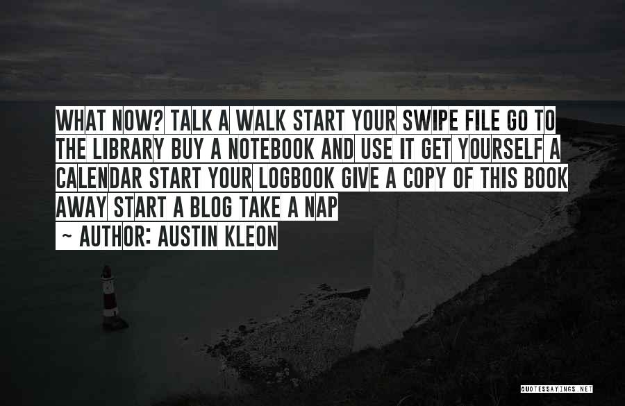 A Book Quotes By Austin Kleon
