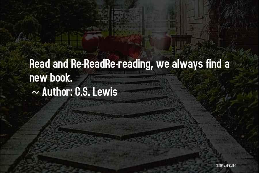 A Book Quotes By C.S. Lewis