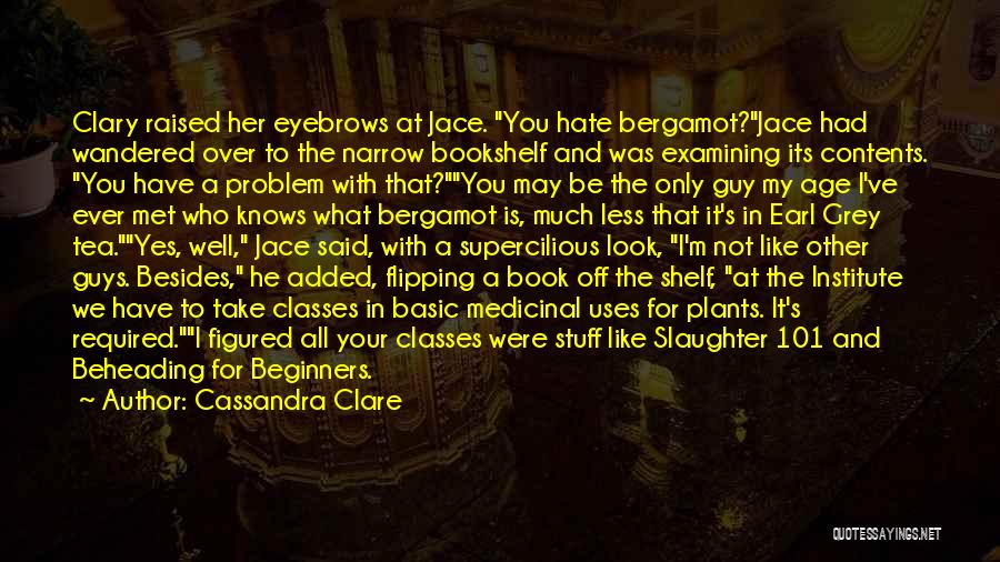 A Book Quotes By Cassandra Clare
