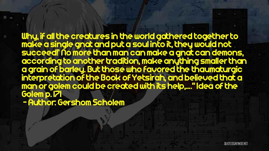 A Book Quotes By Gershom Scholem
