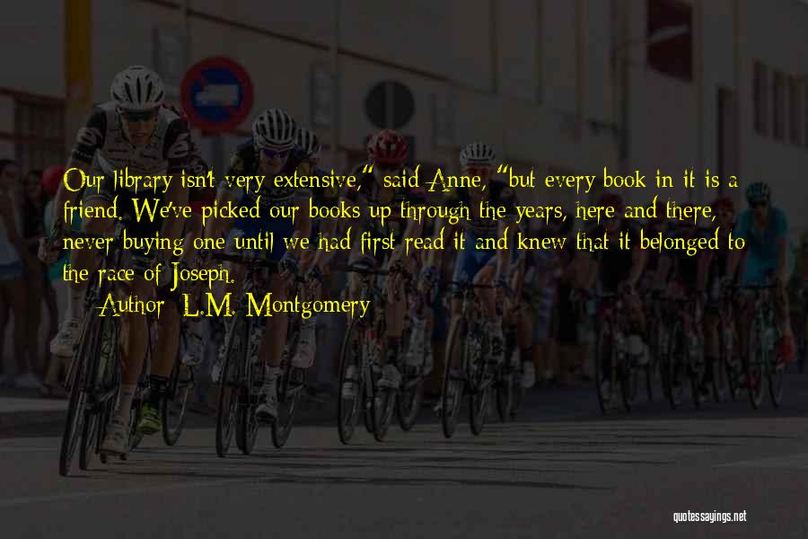 A Book Quotes By L.M. Montgomery