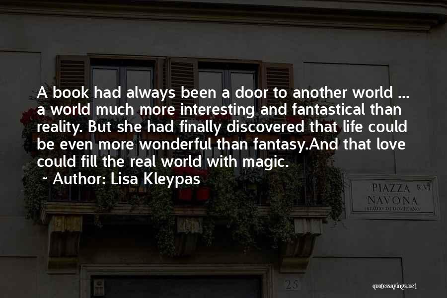 A Book Quotes By Lisa Kleypas